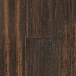Portland Strand Distressed Wide Plank Solid Bamboo Flooring - Lifetime Warranty