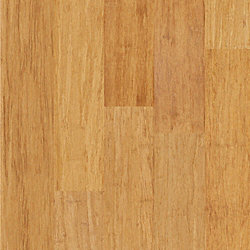 Strand Natural Wide Plank Engineered Click Bamboo Flooring - 35 Year Warranty