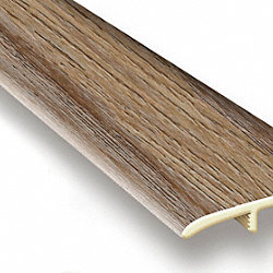 Riverwalk Oak Vinyl Waterproof 1.75 in wide x 7.5 ft Length T-Molding