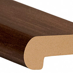 Roasted Chicory Laminate 2.3 in wide x 7.5 ft Length Stair Nose