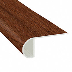 Rochester Oak Vinyl Waterproof 2.25 in wide x 7.5 ft Length Low Profile Stair Nose