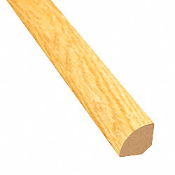 Select Red Oak Laminate 1.075 in wide x 7.5 ft Length Quarter Round