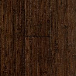 Superbe 3/8 X 3 15/16 Chocolate Horizontal Bamboo