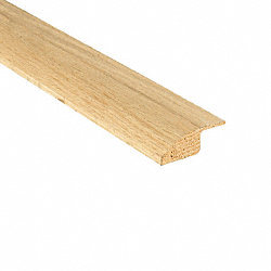 Unfinished Red Oak Hardwood 3/4 in thick x 2.25 in wide x 8 ft Length Reducer