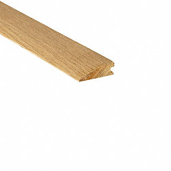 Unfinished White Oak Hardwood 3/4 in thick x 2.25 in wide x 8 ft Length Reducer