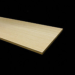 Unfinished White Oak Solid Hardwood 11/32 in thick x 7.5 in wide x 48 in Length Retro Fit Riser