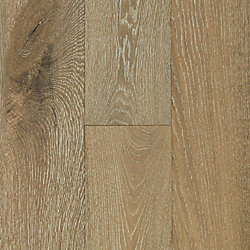 3/8 x 6-3/8 Vintage French Oak Wirebrushed