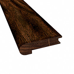 3/8 x 2-3/4 x 78 Burnished Acacia Stair Nose