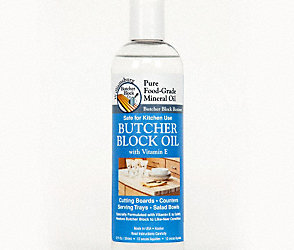 Butcher Block Food Grade Mineral Oil 12oz.
