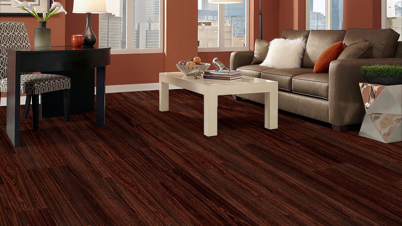2mm new river mahogany resilient vinyl flooring for Where is tranquility flooring made