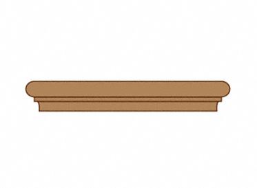 1 x 1-7/8 x 14-3/4 Retro Fit Brazilian Koa Return, Lumber Liquidators Sale $16.99 SKU: 10025217 :