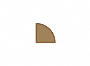 1/2 x 2 x 78 Brazilian Chestnut Shoe Molding, Lumber Liquidators Sale $2.99 SKU: 10042514 :