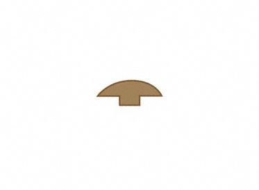 1/4 x 2 x 78 Chestnut Hevea T-Molding, Lumber Liquidators Sale $8.99 SKU: 10043682 :