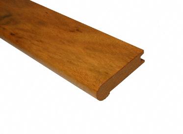 3/4 x 3-1/8 x 78 Brazilian Koa Stair Nose, Lumber Liquidators Sale $11.99 SKU: 10034895 :