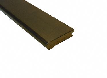 3/4 x 3-1/8 x 78 Espresso Hevea Stair Nose, Lumber Liquidators Sale $11.99 SKU: 10038677 :