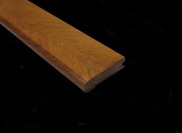 3/4 x 3-1/8 x 78 Sugar Mill Hickory Stair Nose, Lumber Liquidators Sale $9.99 SKU: 10040144 :