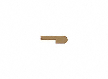 3/8 x 2-3/4 x 78 Fawn Hickory Stair Nose, Lumber Liquidators Sale $9.95 SKU: 10042419 :