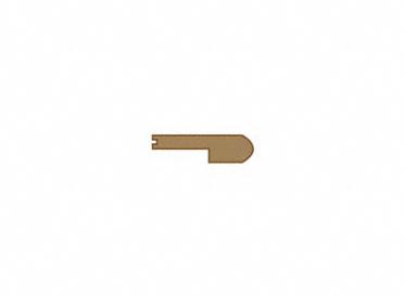 3/8 x 2-3/4 x 78 Gunstock Oak Stair Nose, Lumber Liquidators Sale $7.49 SKU: 10026433 :