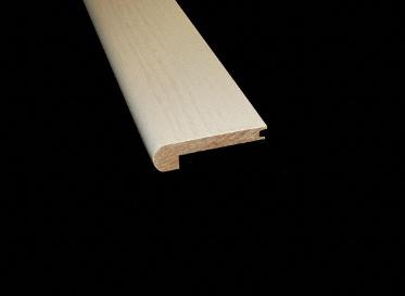 3/8 x 2-3/4 x 78 Steel Creek Hickory Stair Nose, Lumber Liquidators Sale $9.99 SKU: 10042304 :