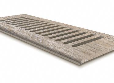 4 x 10 Delaware Bay Driftwood Floor Vent Cover/Register/Drop In Grill, Lumber Liquidators Sale $24.99 SKU: 10043083 :