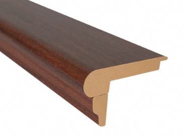 7.5´ Boa Vista Brazilian Cherry Flush Stair Nose, Lumber Liquidators Sale $4.84 SKU: 10038361 :