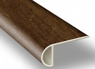 7.5´ Clear Lake Chestnut Waterproof Low Profile Stair Nose, Lumber Liquidators