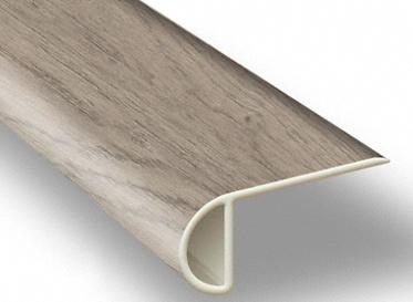 7.5´ Driftwood Hickory Waterproof Low Profile Stair Nose, Lumber Liquidators Sale $4.85 SKU: 10042901 :