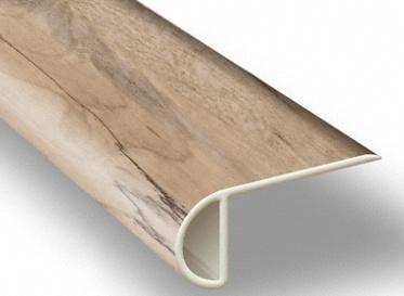 7.5´ Natural Maple Waterproof Low Profile Stair Nose, Lumber Liquidators Sale $4.95 SKU: 10042891 :