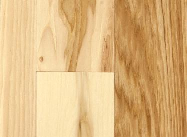 BELLAWOOD Matte Hickory Natural Solid Hardwood Flooring, 3/4 x 5, $5.59/sqft, Lumber Liquidators Sale $5.59 SKU: 10033817 :