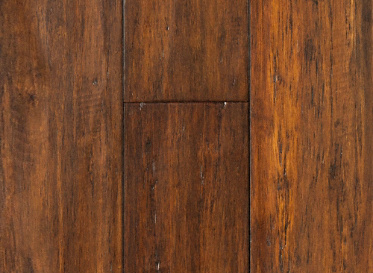 Bamboo Flooring Roasted Almond Strand Distressed Click Engineered Bamboo Flooring - 30 Year Warranty, $2.99/sqft, Lumber Liquidators Sale $2.99 SKU: 10041065 :