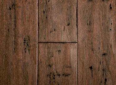 Bamboo Flooring Rustic Clove Strand Distressed Wide Plank Solid Bamboo Flooring - Lifetime Warranty, $3.74/sqft, Lumber Liquidators Sale $3.74 SKU: 10040848 :