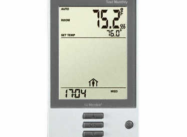 QuietWarmth Programmable Thermostat, Lumber Liquidators