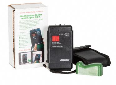 mini-Ligno DX/C Moisture Meter, Lumber Liquidators, Flooring Tools
