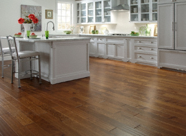 "Virginia Mill Works Engineered Clic Natural 7/16""x4 3/4"" Stained Finish Engineered"