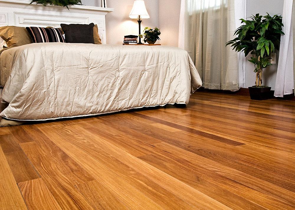 5 16 x 2 1 4 select cumaru bellawood lumber liquidators for Bellawood prefinished hardwood flooring