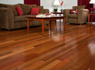 """BELLAWOODSelect3/4""""x2 1/4""""IpeTabebuia spp.3680Clear FinishSolid"""