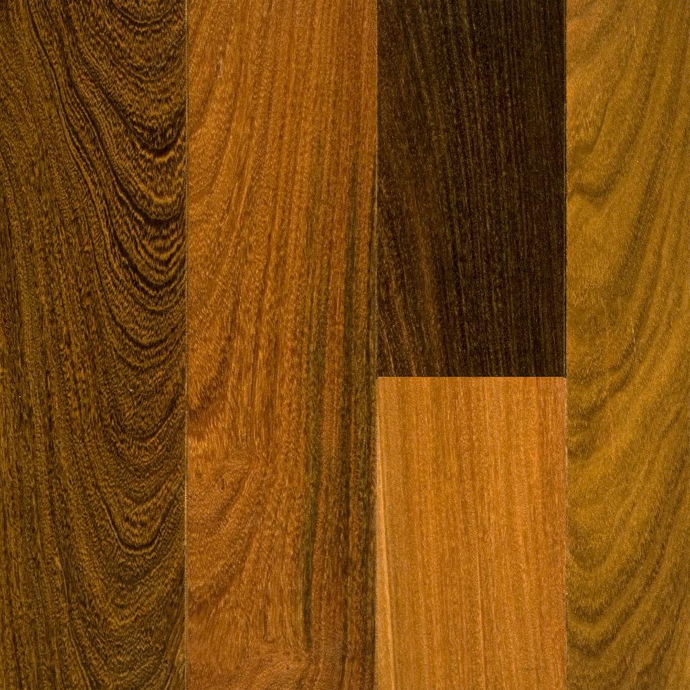 "Solid Brazilian Walnut Hardwood Flooring: 3/4"" X 3-1/4"" Brazilian Walnut - BELLAWOOD"