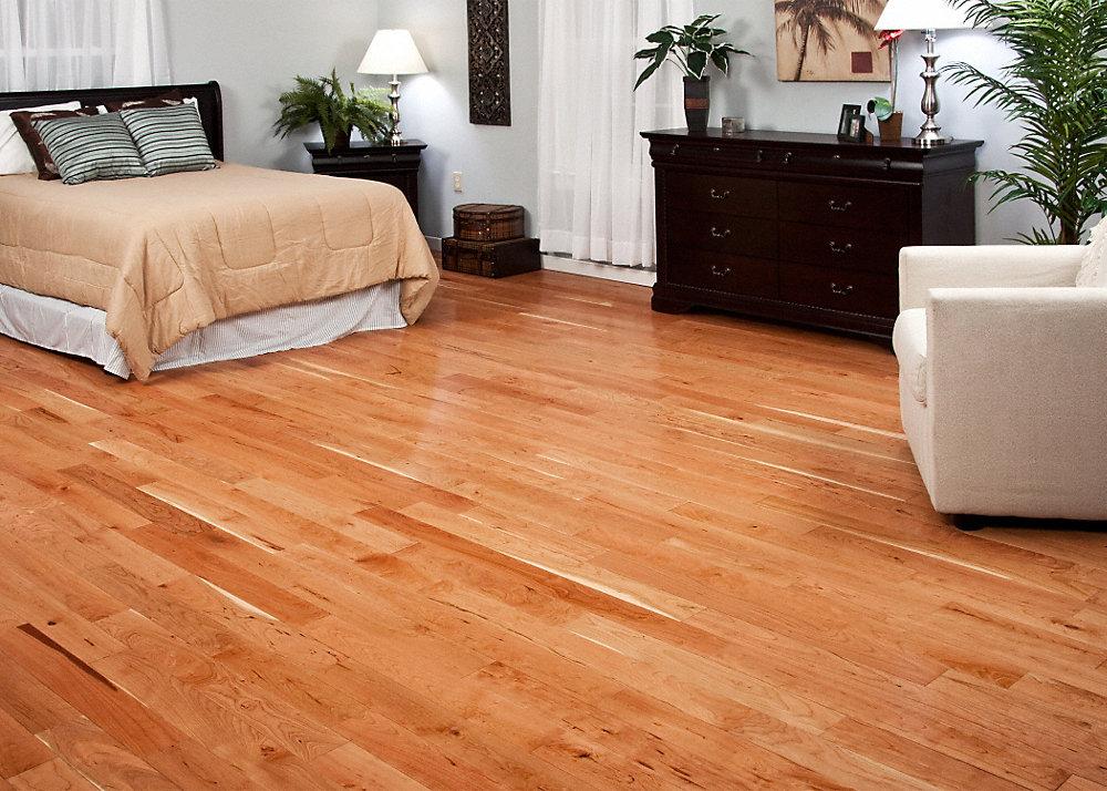 3 4 x 5 natural american cherry bellawood lumber for Bellawood prefinished hardwood flooring