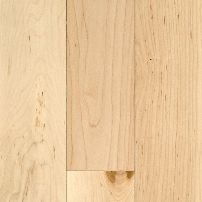 "Price Of Maple Hardwood Flooring: CLEARANCE! 3/4"" X 4"" Natural Maple - BELLAWOOD"
