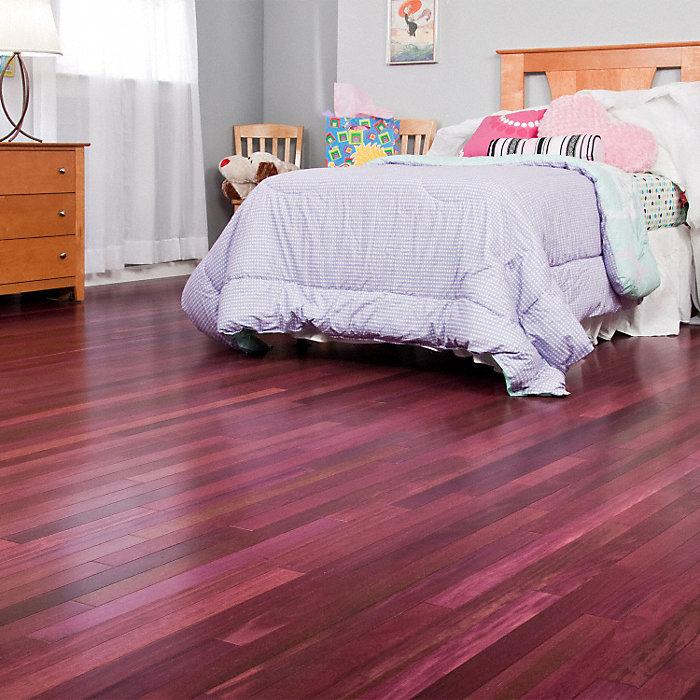 purple heart flooring