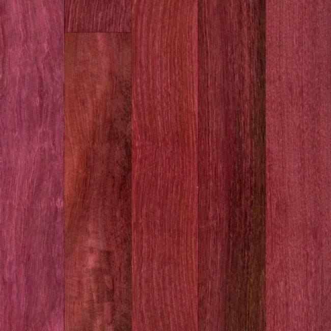 Bellawood 3 4 x 5 select purple heart lumber for Bellawood prefinished hardwood flooring