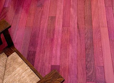 Purple Heart Flooring Odd Lot