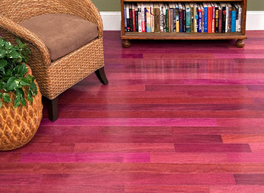 3 4 x 3 1 4 select purple heart bellawood lumber for Purple heart flooring