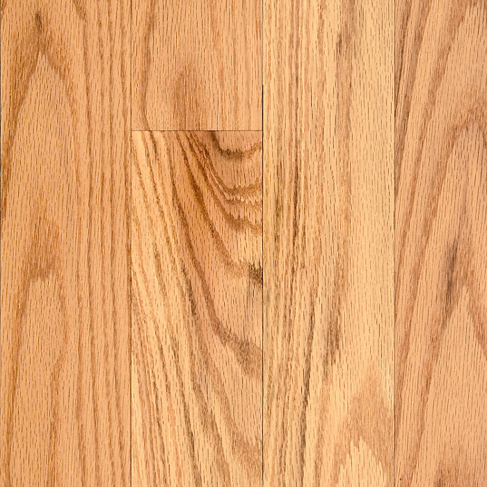 "3/4"" x 3-1/4"" Natural Red Oak"