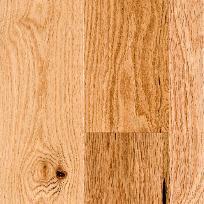 """3/4"""" x 5"""" Rustic Red Oak"""