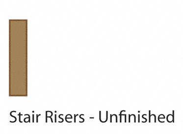 """48"""" Red Oak Riser"""