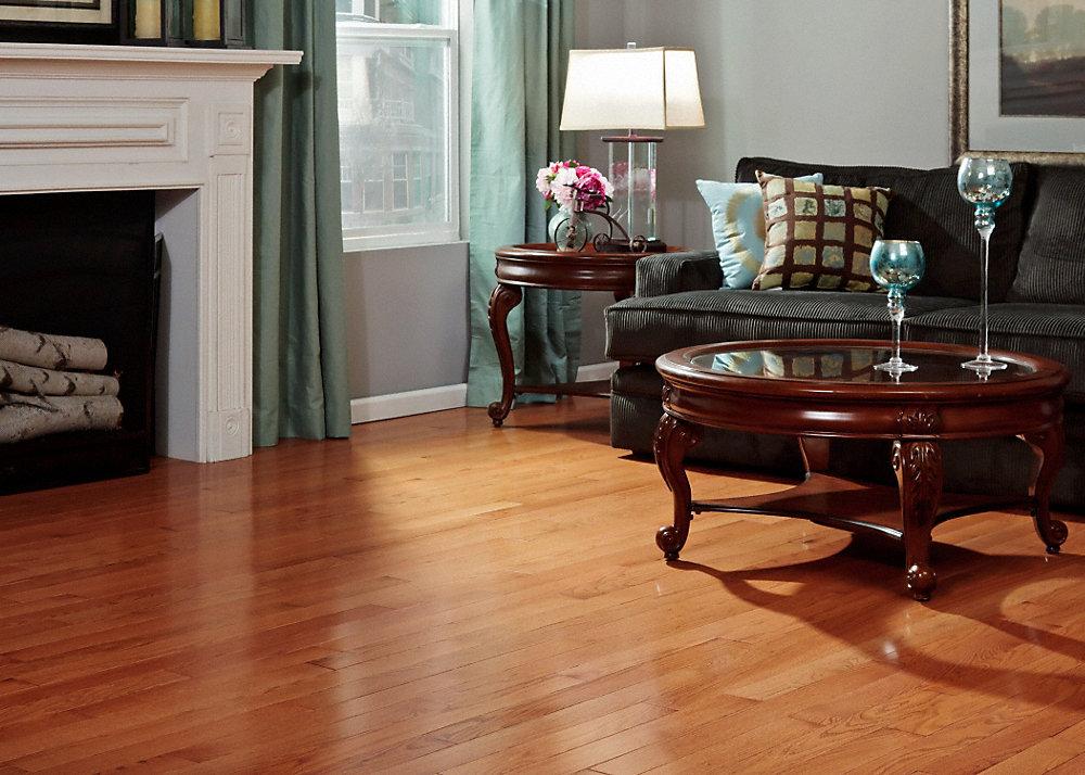3 4 x 5 classic gunstock oak builder 39 s pride lumber for Builders pride flooring installation
