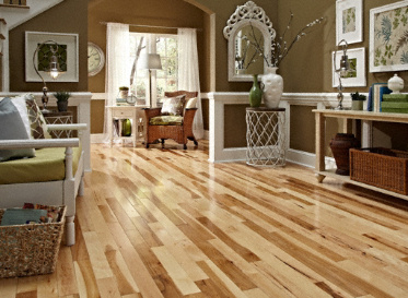 Mayflower 3 4 Quot X 3 1 4 Quot Millrun Hickory Solid Hardwood