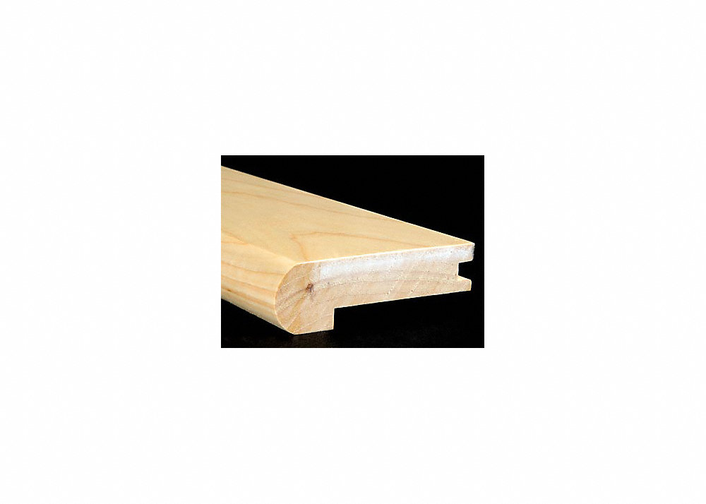 3 4 Quot X 3 1 4 Quot X 6 5 Lft Hickory Stair Nose Lumber