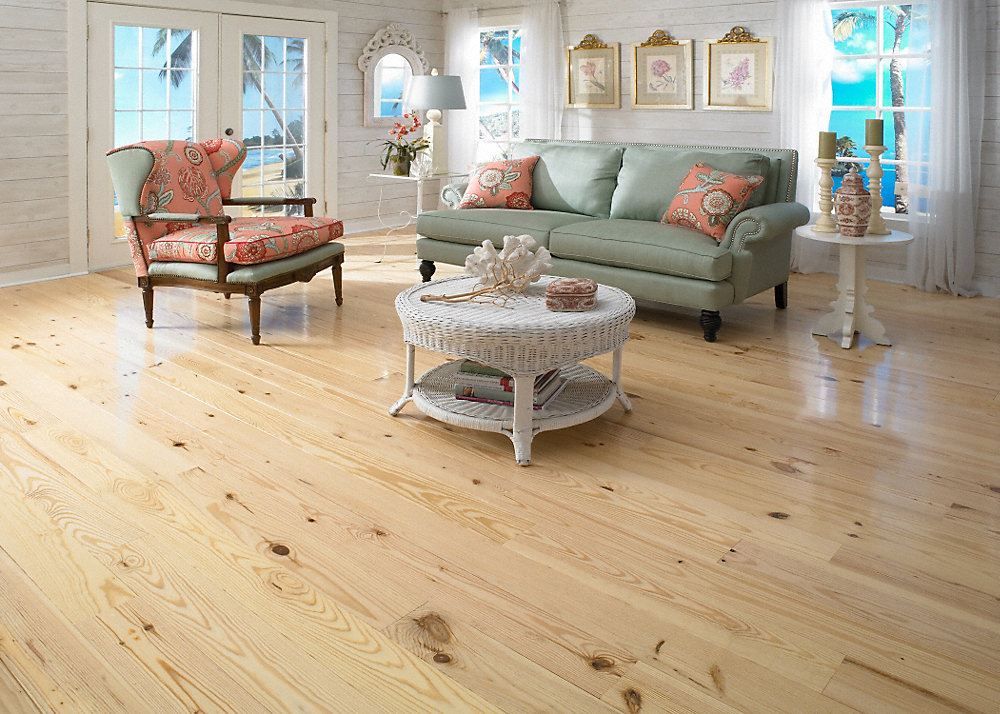 flooring natural maritime brushed pine floors interiors unfinished floor